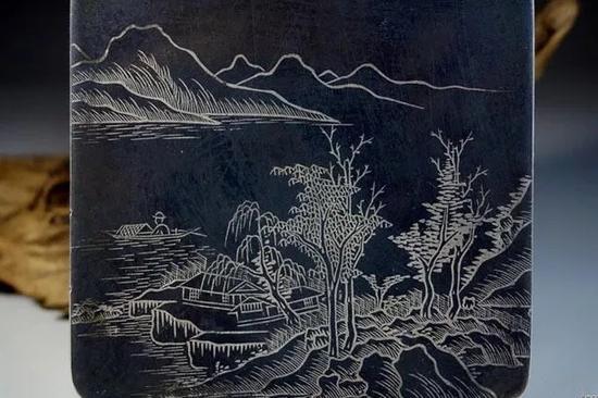 乌铜走银的工艺过程一般有以下七步:
