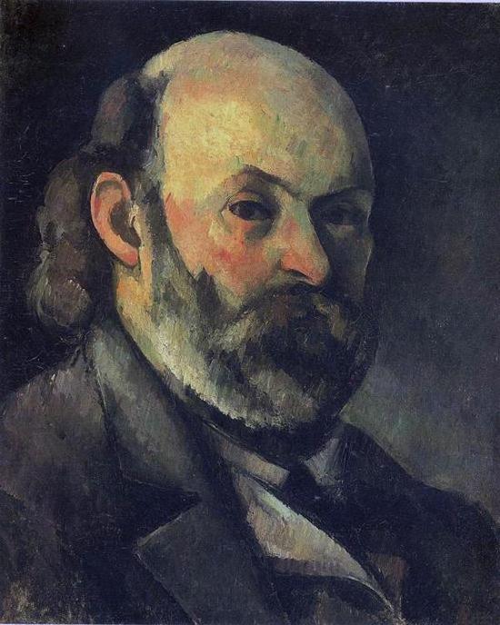 塞尚自画像,约1882年