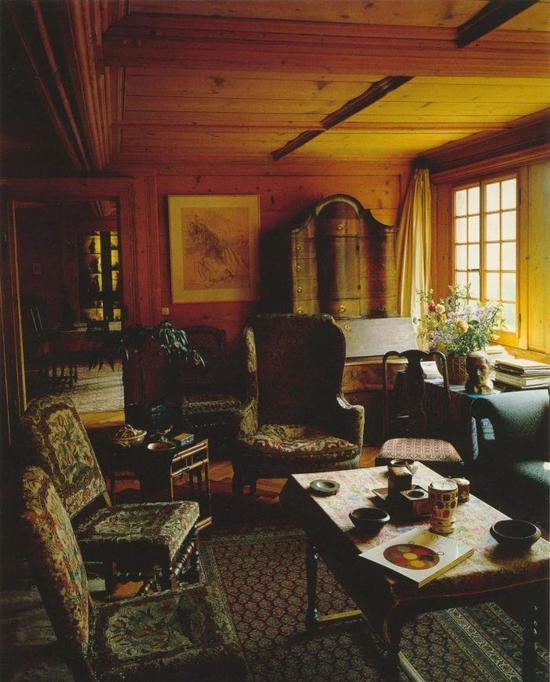 巴尔蒂斯家中的客厅