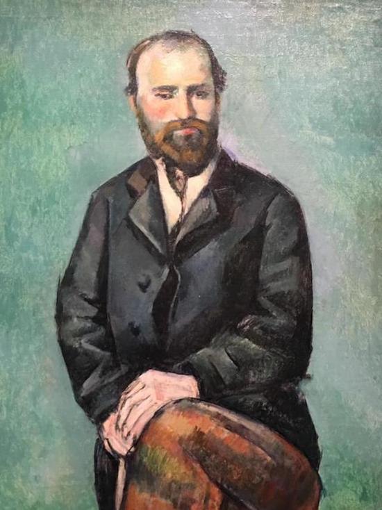 塞尚自画像,1885年