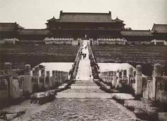 故宫老照片