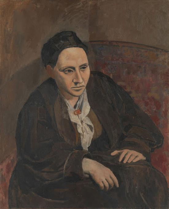 格特鲁德・斯泰因(Gertrude Stein),毕加索,1905-6年