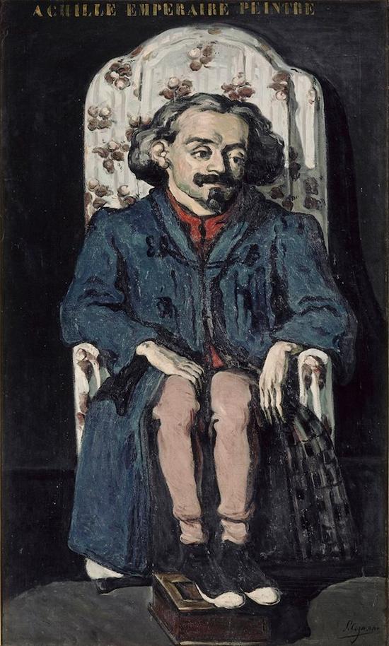 《亚契耶・昂珀雷尔》(Achille Emperaire),1867-8年