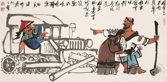 仇立权:画家中的历史学家 历史学家中的艺术家