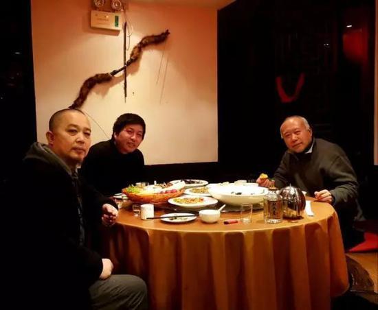 张天志与其恩师李山,艺术批评家朱其畅谈原生艺术