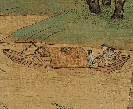 ▲食——岸边与船上的饮食