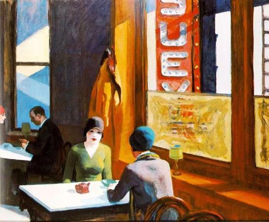 Edward Hopper,Chop Suey,1929