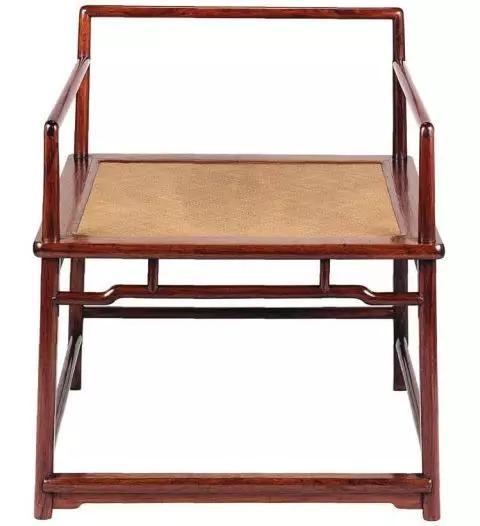 黄花梨禅椅 私人藏品