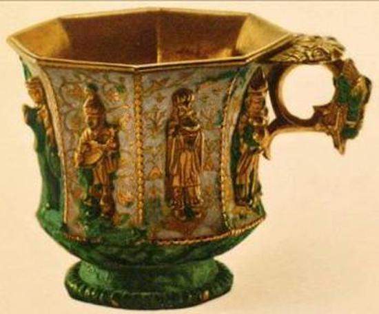 金银器 · 鎏金容器