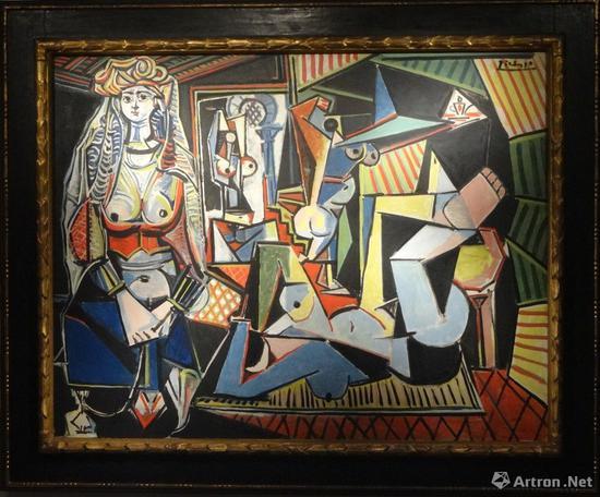 图12 毕卡索(1881~1973年)1955年作杰作(2015年纽约佳士得1.79亿美元成交)