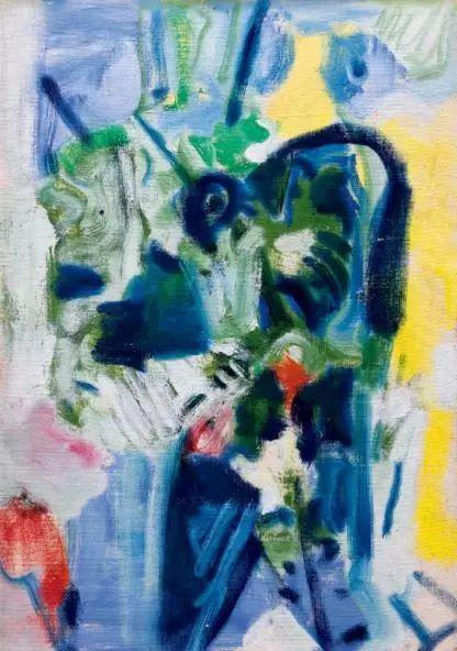 毛焰《女子肖像》,估价450万—650万港币