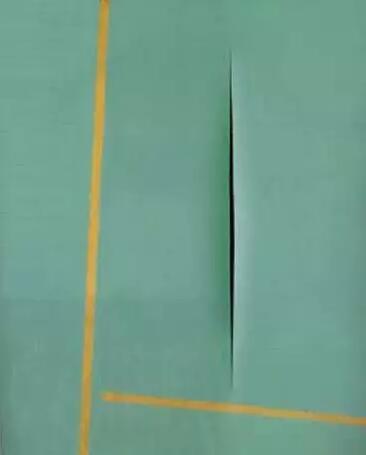 Lucio Fontana:在门槛上