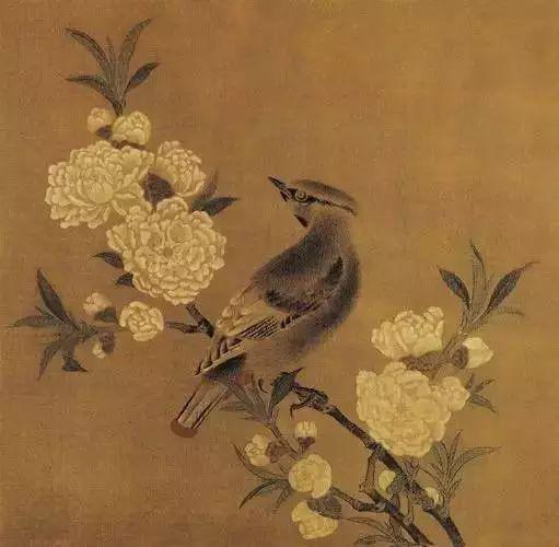 《桃花山鸟图》 宋 佚名 绢本设色