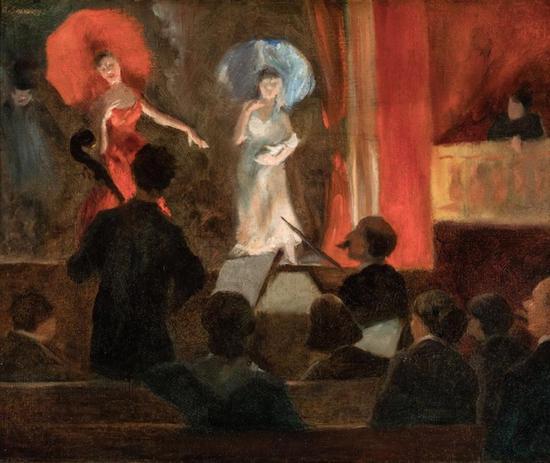 艾弗雷特·希恩《舞台》泰拉美国艺术基金会,丹尼尔·J·泰拉藏品