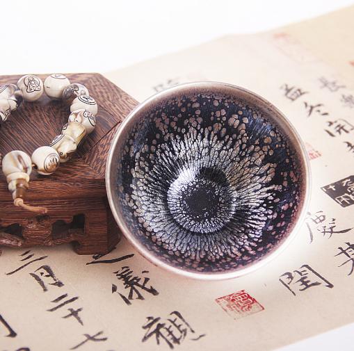 传统鹧鸪斑油滴盏