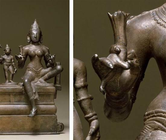 湿婆、乌马和他们的儿子韦驮