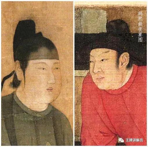 (传)顾闳中《韩熙载夜宴图》,宋摹本,北京故宫博物院藏