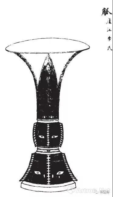 图9 《考古图》中的铜觚