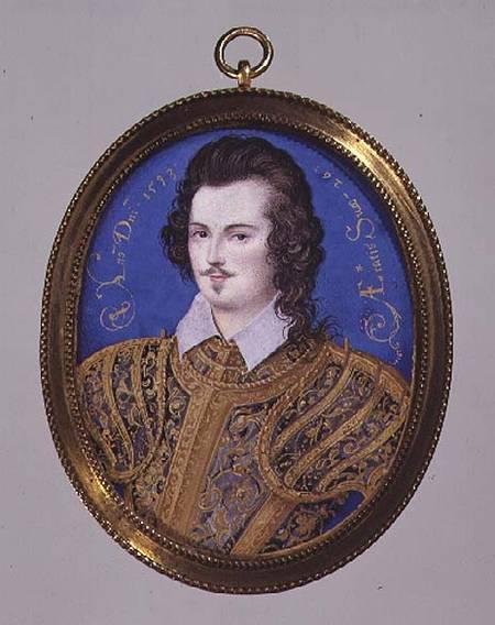 奥利弗与希威德共同绘制的袖珍肖像画