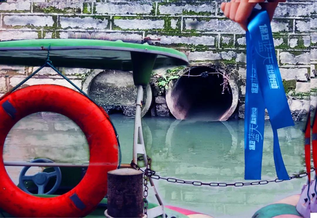 2,2018.4。小华拍摄的——漳州九龙江边一处生活垃圾