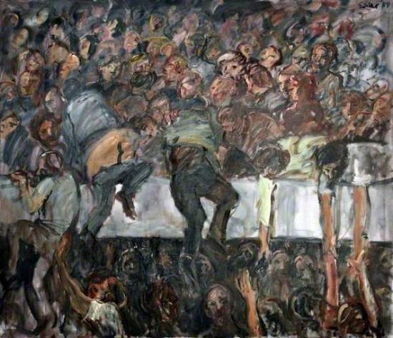 格奥尔格·艾斯勒 《希尔斯堡》(1989)