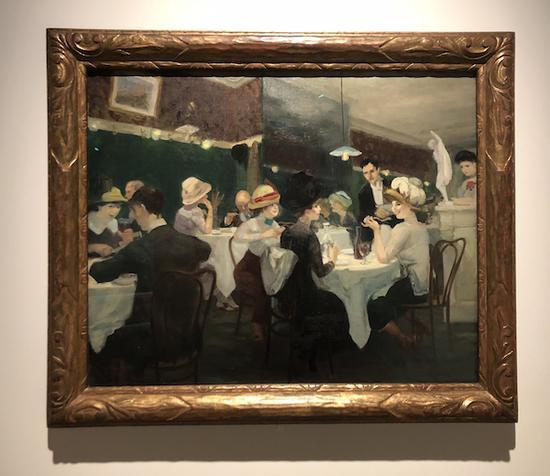 约翰·斯隆《瑞根诗周六的晚上》芝加哥艺术博物馆,玛丽·奥提斯·詹肯捐赠