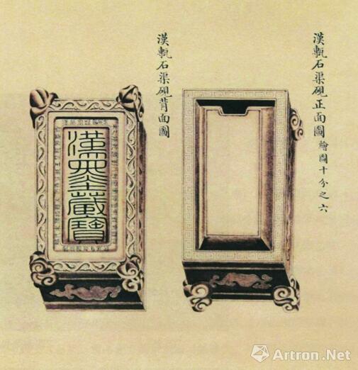 """《西清砚谱》台北""""故宫博物院""""藏"""