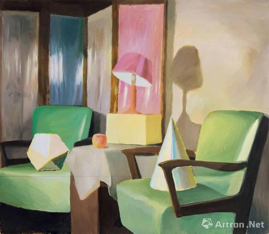 仇晓飞《界河》布面油画 144x166cm 2012年 北京匡时成交价:172.5万元