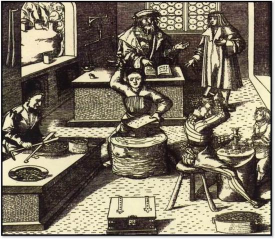 威尼斯版畫中的硬幣軋制法