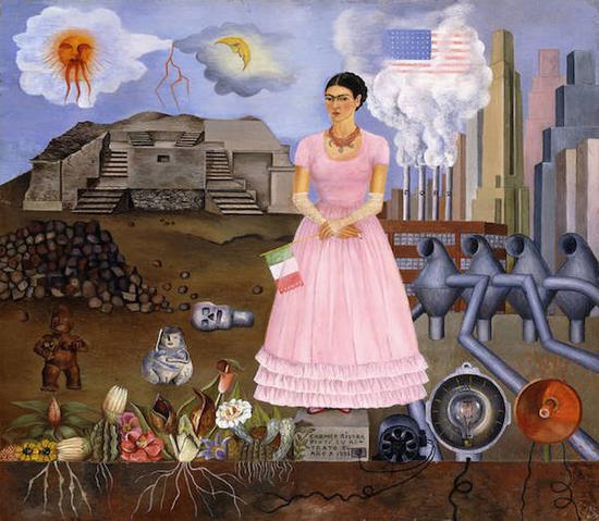 《自画像:在墨西哥和美国的边境上》