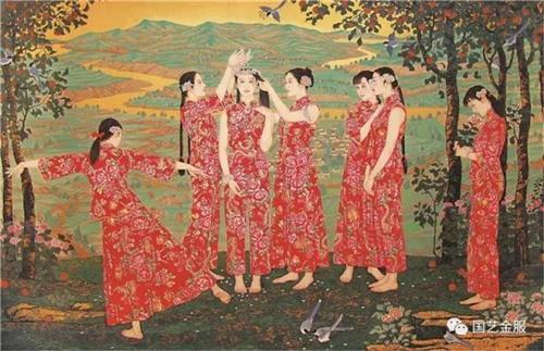 《原野如歌》270×400cm 2006年