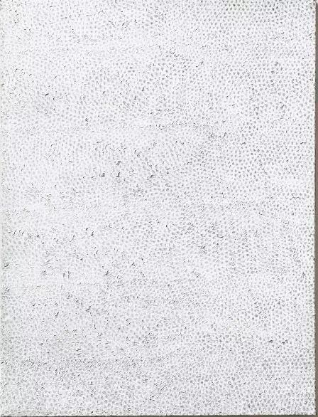 草间弥生《无限之网4》