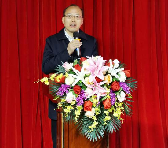 四川省文化和旅游厅副厅长赵红川致辞