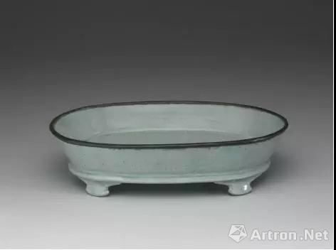 北宋 汝窑青瓷水仙盆