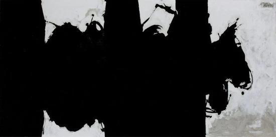羅伯特?馬瑟韋爾,《輓歌,習作NO。 XIII》,1976-79年作,估价1,500,000–2,000,000美元