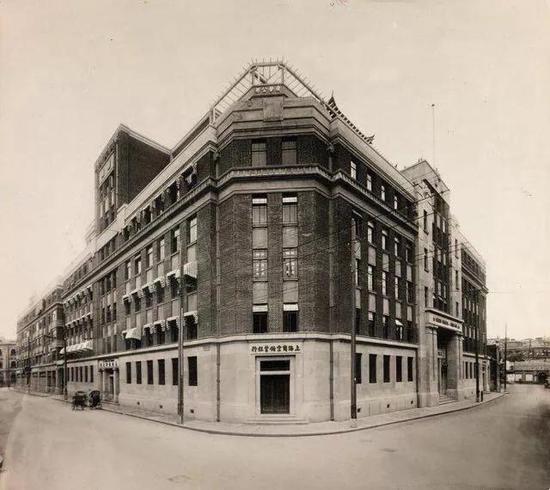 1932年3月30日,坐落于宁波路和江西路口的上海商业储蓄银行(资料图)