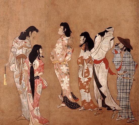 重要文化遗产 汤女图 江户时代(17世纪) 静冈MOA美术馆藏