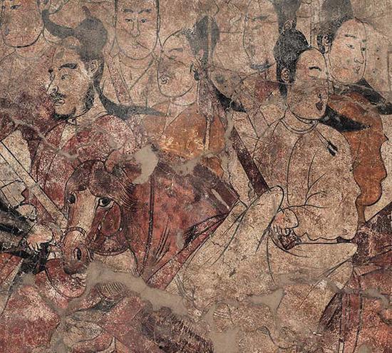 北齐壁画巅峰之作展出了