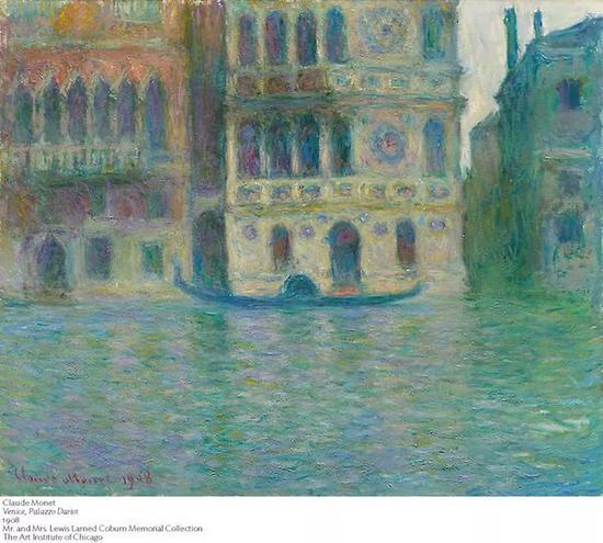 莫奈笔下的威尼斯是什么样的