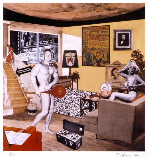 理查德-汉密尔顿 超越波普艺术的波普艺术之父