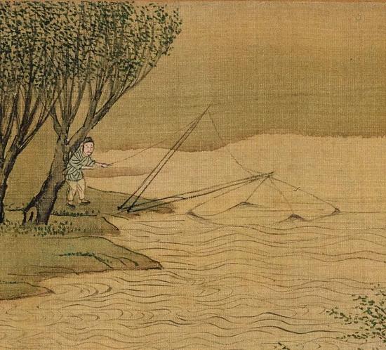 ▲捕鱼——先进的设施