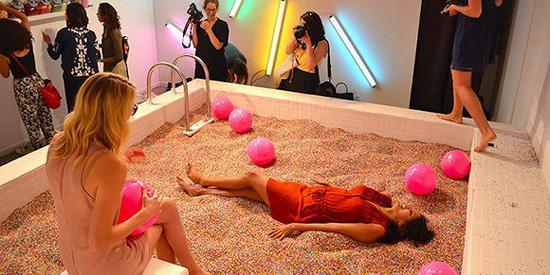 """纽约的""""冰淇淋博物馆""""。图片来源:Emma Rechenberg/Business Insider"""