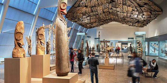 ▲靠私人捐献而成的世界著名博物馆 大都会博物馆