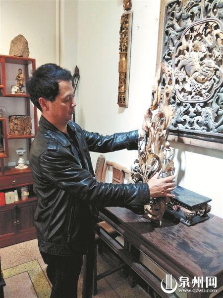 木雕构件是人们感受传统生活气息的重要媒介