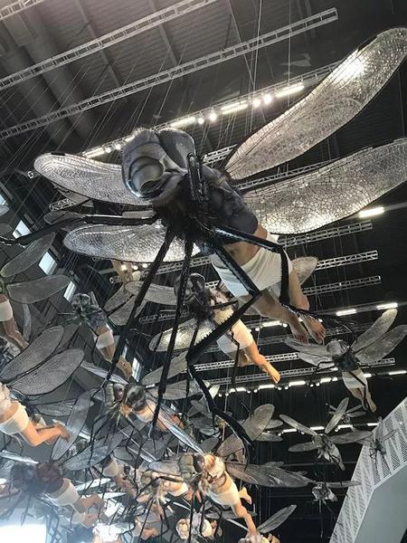 李山个展现场《偏离》 上海当代艺术博物馆 2017