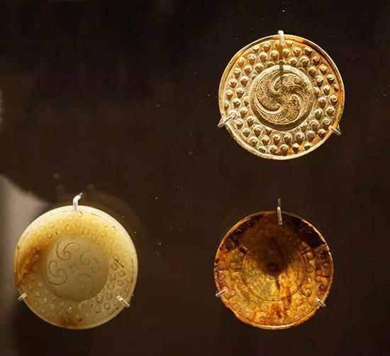 玉剑饰 东周、秦汉,公元前4-1世纪