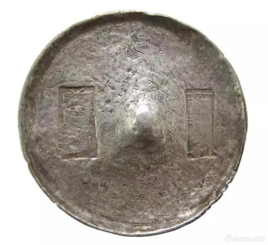 包银皮的清代银锭