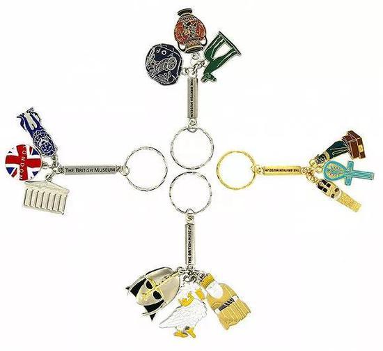 大英博物馆钥匙扣 图片来源:taobao