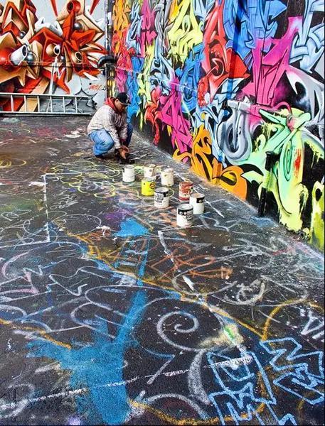 柏林围墙东边画廊