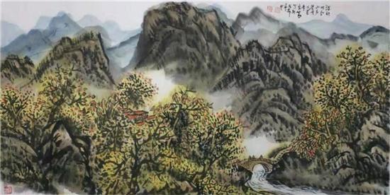著名画家宋智明作品赏析
